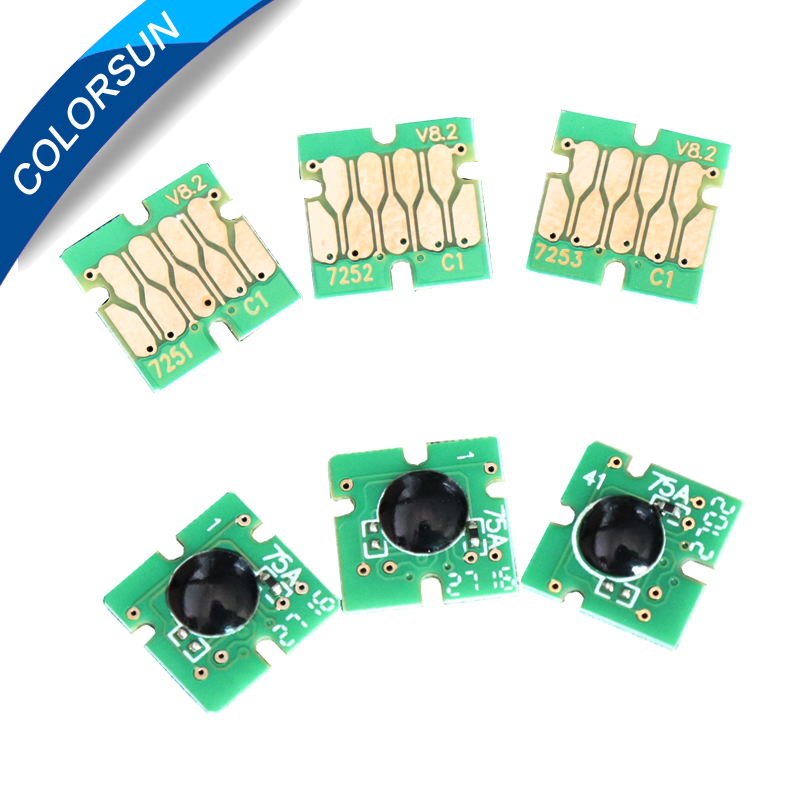 2 set Stable f2000 one time cartridge chip for Epson Surecolor F2000 ink chip for F2000 printer