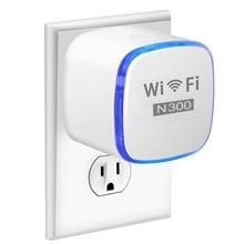 Extensor de rango WiFi, repetidor Wi Fi de viaje de 300 Mbps, amplificador de señal de Internet, puerto Ethernet para Router WiFi de viaje, AP doméstico