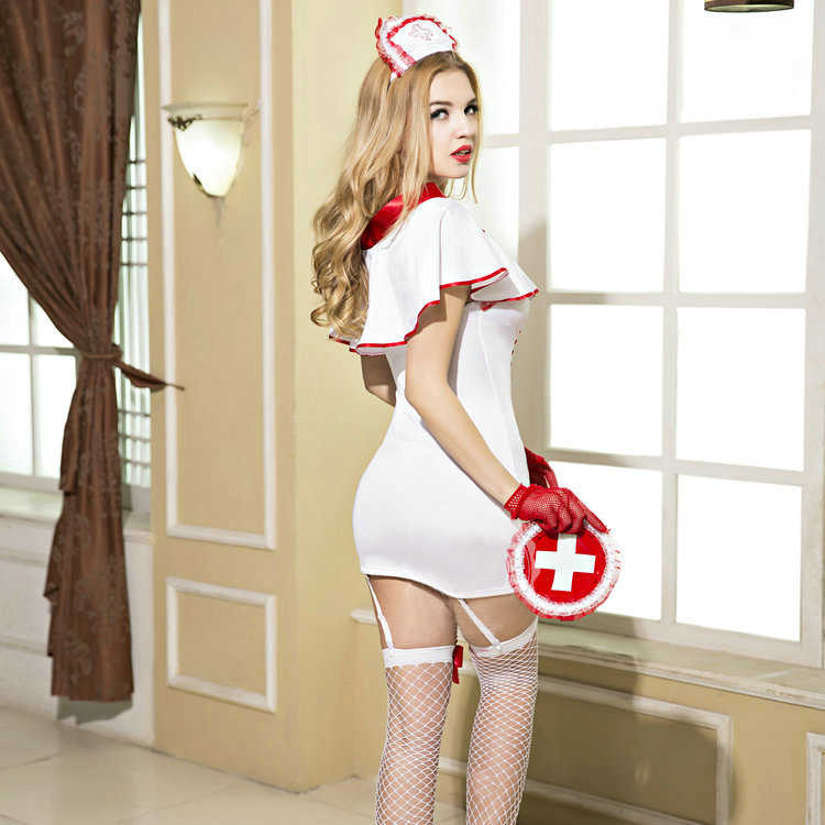 6073c1215c76a Women Japanese Sexy Nurse Costume Erotic Lingerie Role Play Free Shipping  3S1599 Sexy Nurse Uniform Set