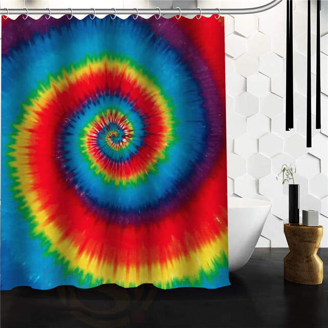Fashionable Design Colourful Tie Dye pattern Waterproof Polyester ...