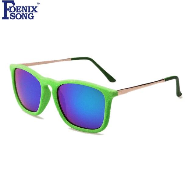 d7430d84e4 FOENIXSONG Oculos Moldura Vermelha Óculos de Sol para Mulheres Homens Retro  Óculos de Condução Do Vintage