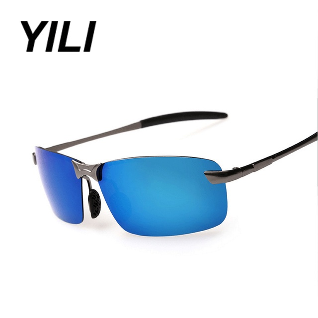 Fashion Anti-Reflective Lens Sunglass Men's Sports Leisure Polarized Eyewear Beach Outdoor Protect UV400 Glasses
