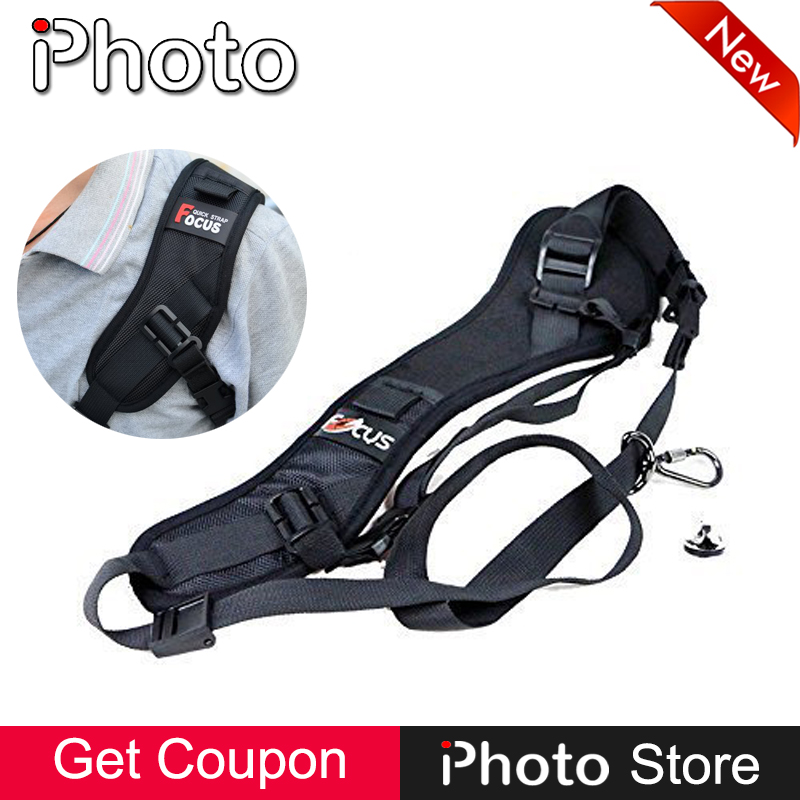 Focus F-1 DSLR Camera Quick Release Rapid Shoulder Sling Neck Strap Belt for Canon Nikon Sony Pentax Olympus Photo Accessories
