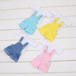 Fortune дней для Блит куклы ледяной licca, новый Комбинезон розовый синий одежда желтого цвета oversize белая рубашка милые наряды