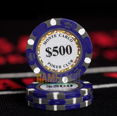 Poker Chips Clay Casino Coins Entertainment Dollar 3pcs//pack Ceramic 40mm