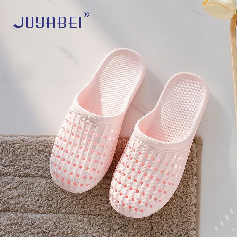 Summer Baotou Soft Bottom Home Hole Sandals Beauty Salon Laboratory Work Slippers Flat Bottom Doctor Nurse Medical Shoes Women