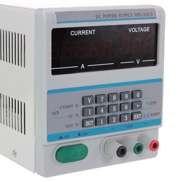 DPS-305CF 30 V 5A DC contrôle numérique laboratoire alimentation réglable prise ue