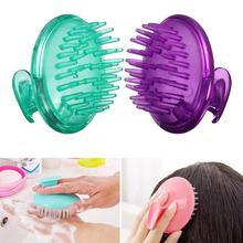 Silicone Head Body To Wash Clean Care Hair Root Itching Scalp Massage Comb Shower Brush Bath Spa Slimming Anti-Dandruff Shampoo