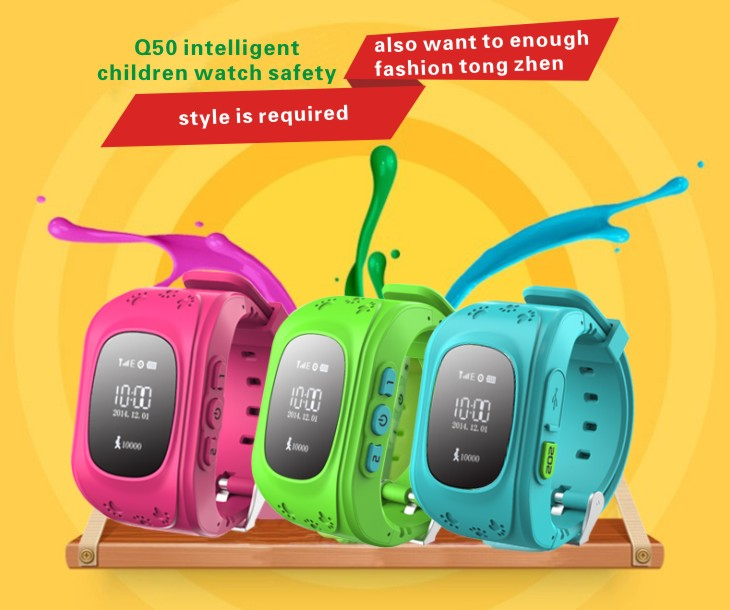 MOCRUX Kids Watches Q50 SOS Call GSM GPRS GPS Smart Baby Watch Track Watch Location Tracker Smart Watch for Child Boys Girls (13)