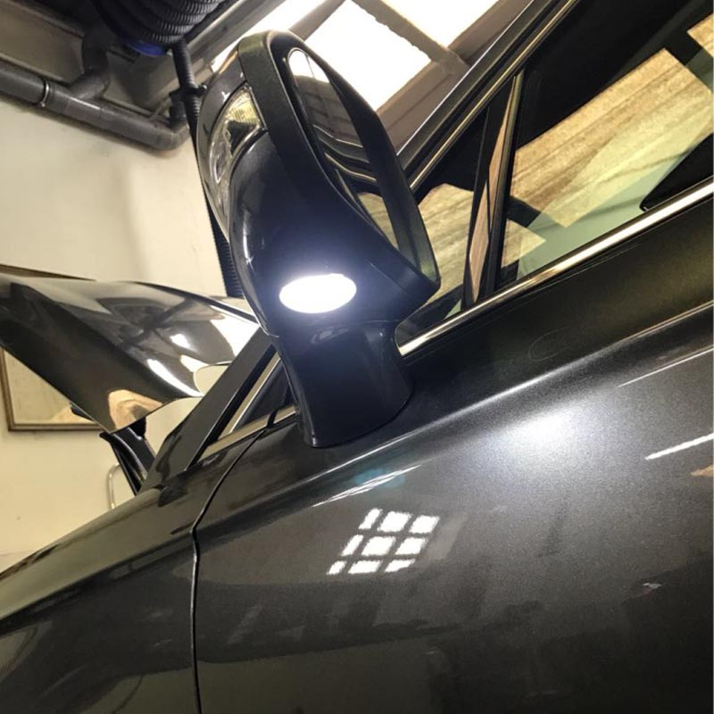 2pcs Led Side Mirror Puddle Light For Ford Edgy Explorer