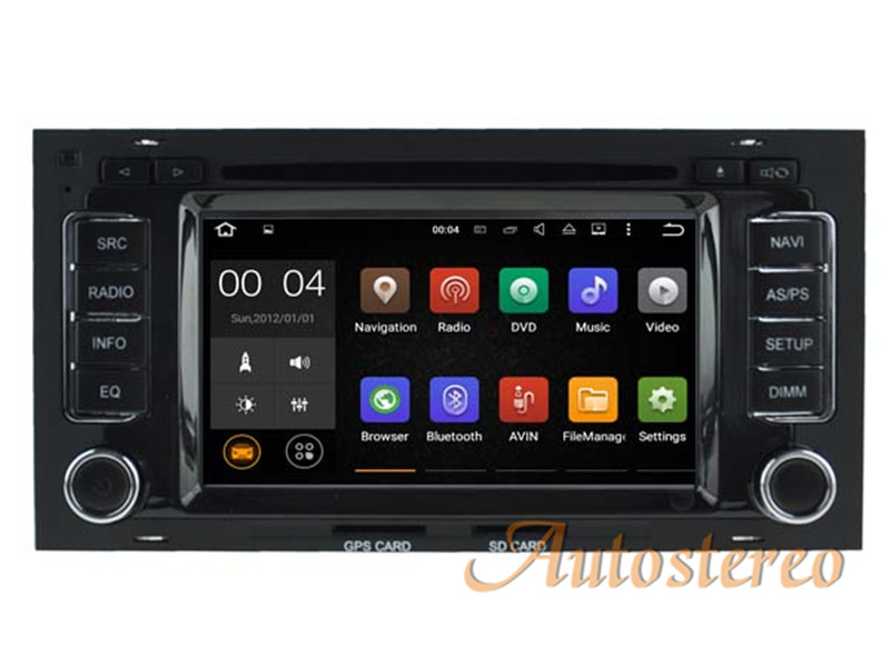 Android 7.1 Quad Core Car DVD Player for VW Volkswagen TOUAREG 2003 2010 Car GPS Navigation Stereo Radio Bluetooth WIFI