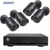 JOOAN 4CH CCTV System 4PCS 1280TVL Outdoor Weatherproof Security Camera 1080N DVR Day/Night DIY Kit Video Surveillance System