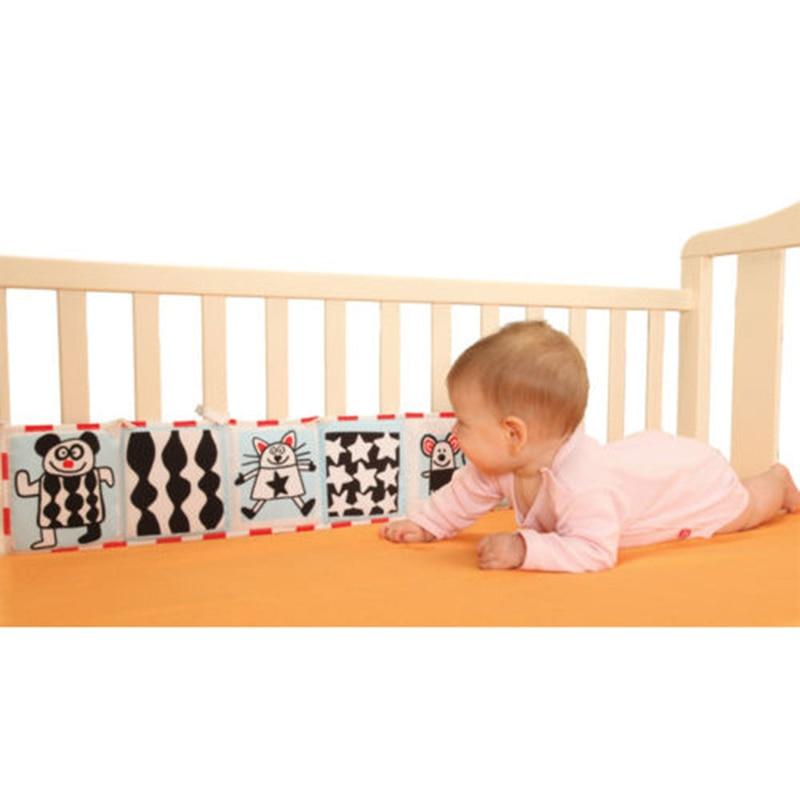 1-12 månader babyleksaker Cloth Book Multi Animal Bumper pad - Leksaker för spädbarn