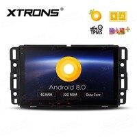 ОС Android 8.0 8 Автомобильный мультимедийный навигации GPS Радио для GMC Acadia 2007 2012 и GMC Sierra 2007 2014 и GMC Yukon 2007 2014