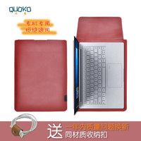 Arrival selling ultra thin super slim sleeve pouch cover,Genuine leather laptop sleeve case for Samsung notebook 9 Pro