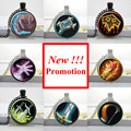 2015 New Fashion Wow Pendant World of Warcraft Necklace Glass Dome Pendant Necklace Gifts for Friend