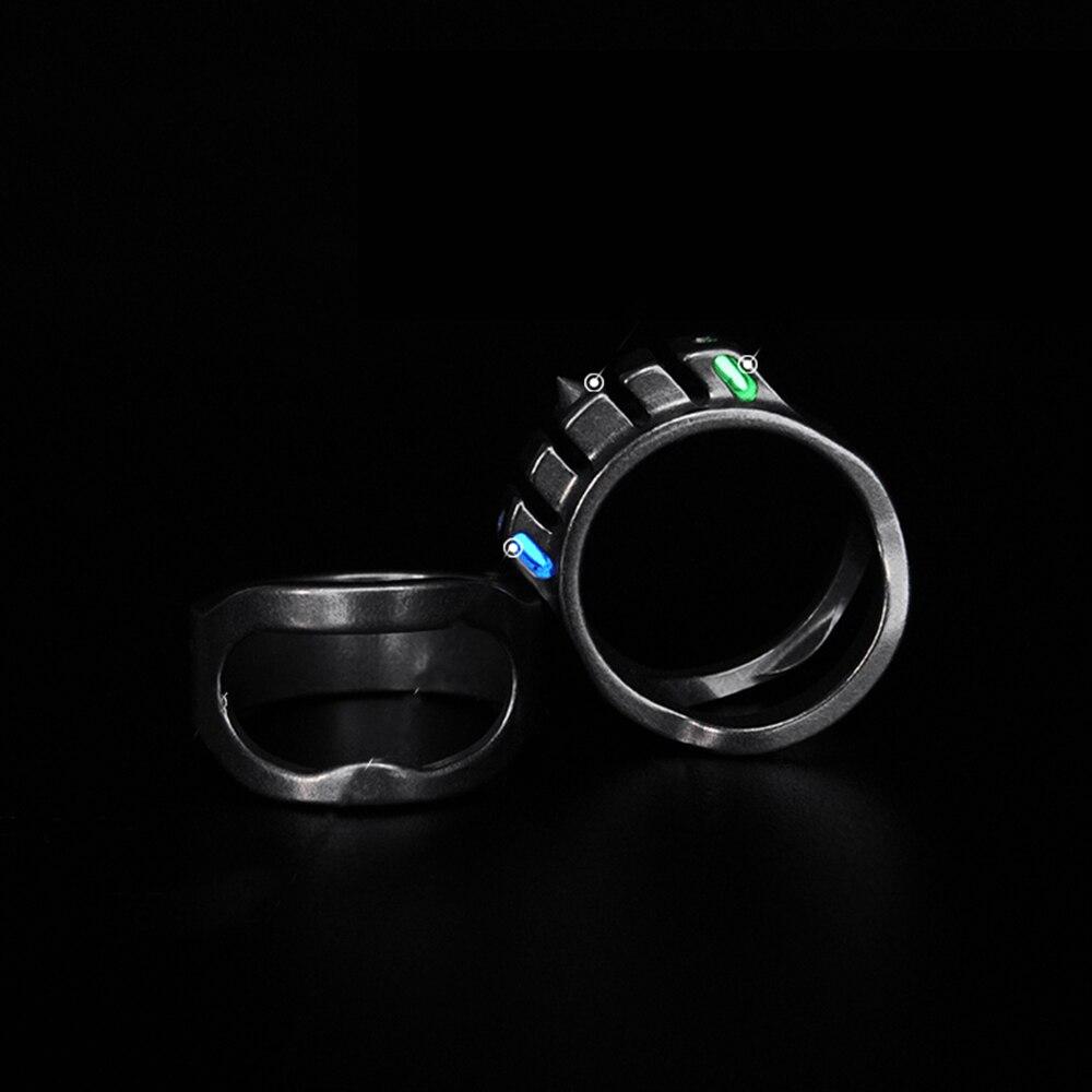 Tungsten Tritium Ring