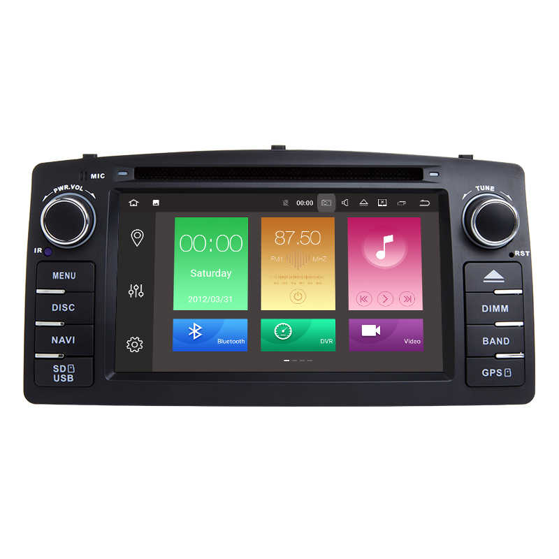 "6,2 ""Android 8,0 HD двойной Din 32 Гб Octa Core dvd-плеер для автомобиля для Toyota E120/BYD F3 gps навигации Bluetooth WI-FI стерео радио"