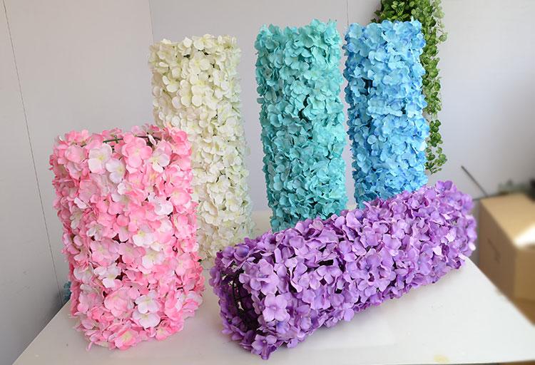60 * 40cm Hydrangea DIY huwelijksboog instellen wanddecoratie Road - Feestversiering en feestartikelen - Foto 2