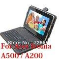"""3in1 для 10.1 """" Acer Iconia A500 / Tab A200 роскошный кожаный чехол + USB клавиатуры + стилус"""