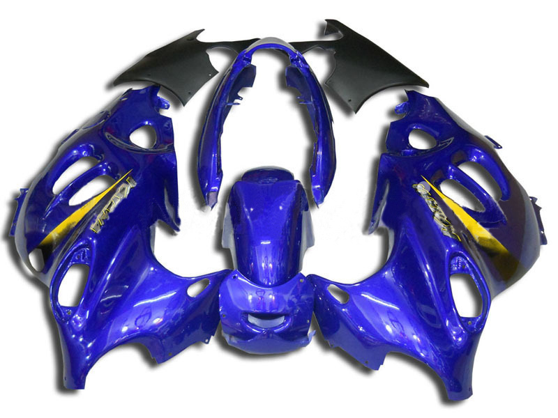 Blue ABS <font><b>Fairing</b></font> for <font><b>Suzuki</b></font> GSX600F <font><b>GSX750F</b></font> 97 98 99 00 01 02 03 04 05 06 GSX 600F 750F Katana+7 Gifts image