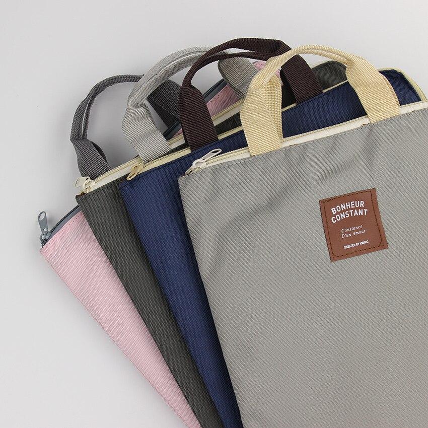1PC Oxford Cloth Multicolor Optional Document Bag File Folder Expanding Folder Big Capacity Filing Products