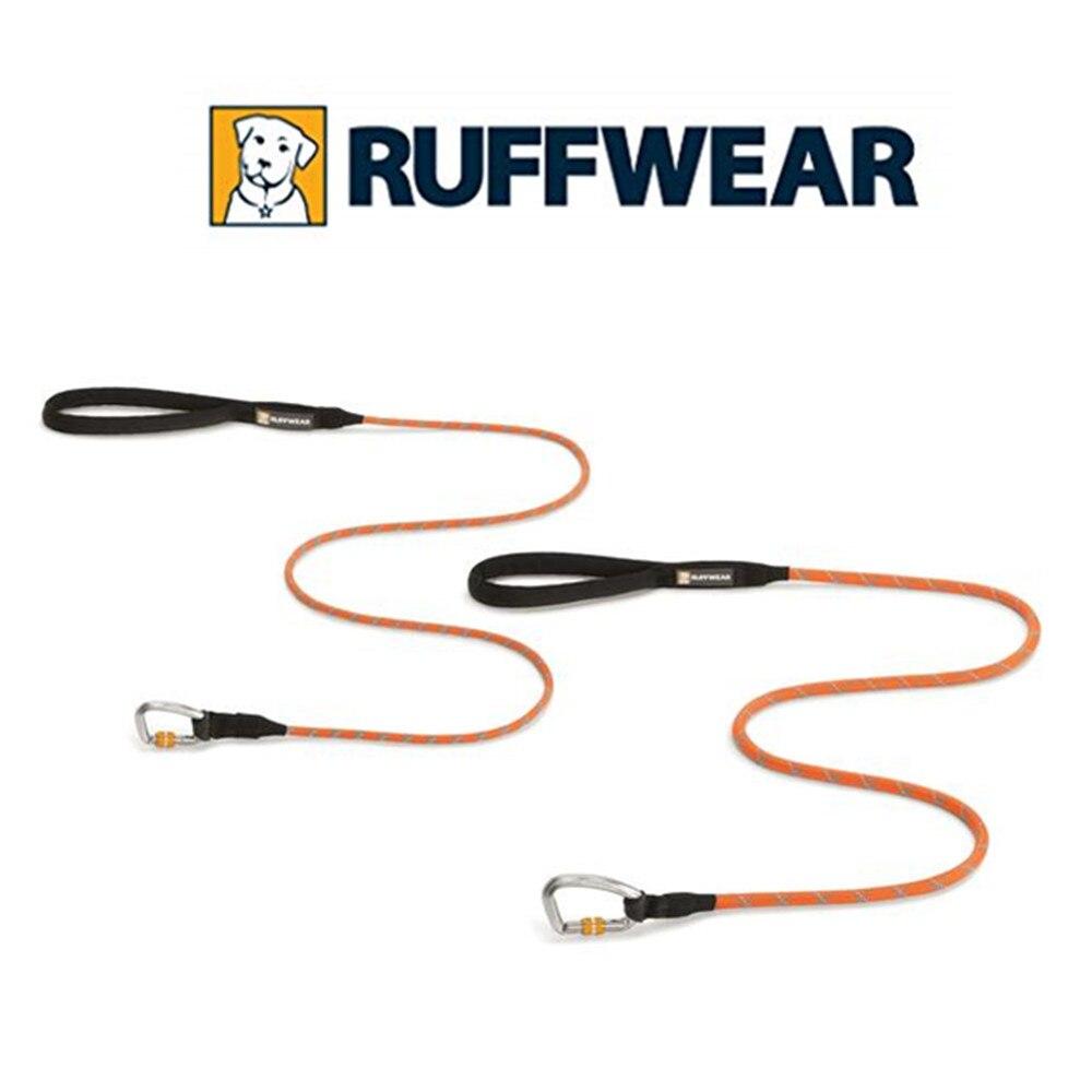 RUFFWEAR-noeud-a-laisse, laisse de chien réfléchissante avec mousqueton de verrouillage sécurisé S/L
