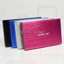 """Envío gratis A La Venta 2.5 """"USB2.0 HDD 120 GB disco duro Externo Portátil de disco de Almacenamiento de Precios al por mayor y al por menor"""