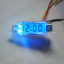Sepp Car motorcycle meter modified electronic clock LCD display time gauge(China)