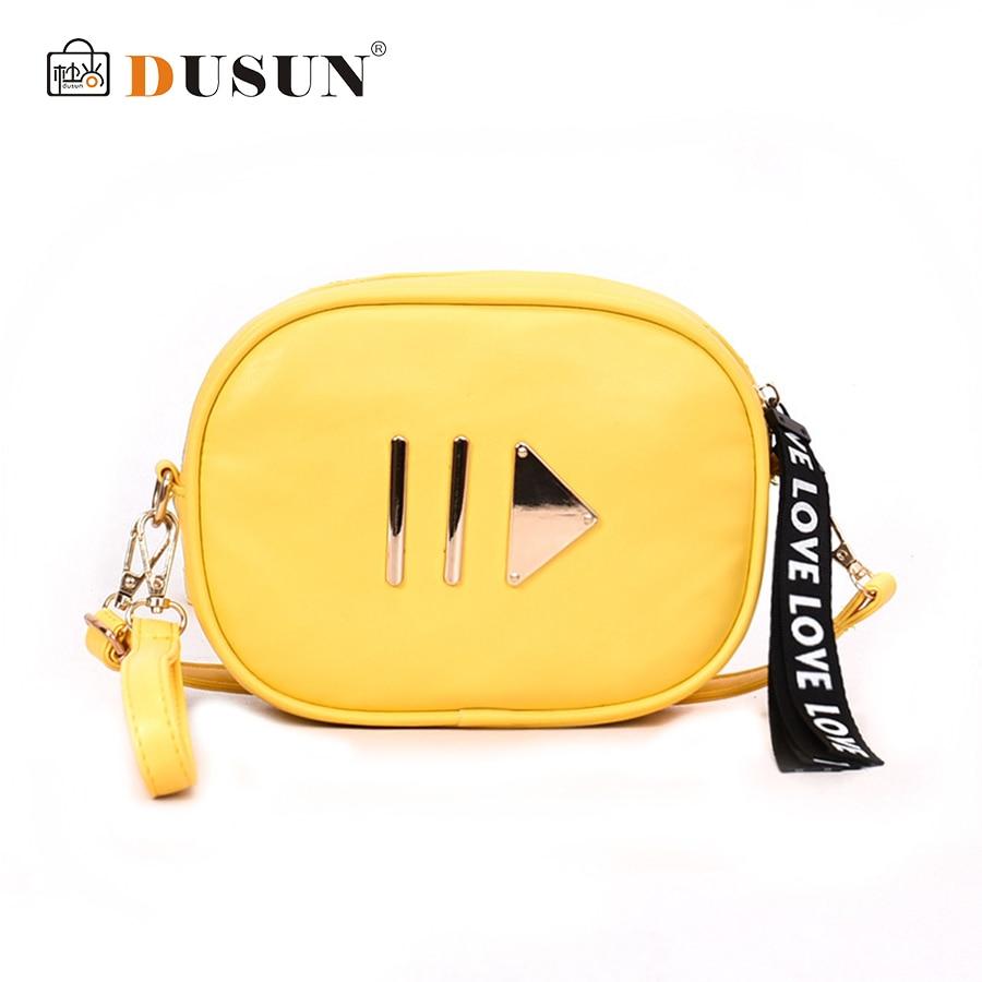 DUSUN Waist Bag Fashion Solid Pillow For Women Bag Waist Fanny Packs Belt Bag Casual Crossbody Bag Pu Leather Box Chest Handbag