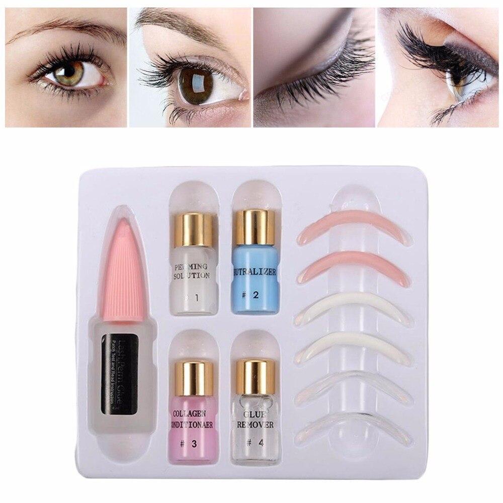 Professional Natural Curling Eyelash Perm Lotion Eye lashes Tools kit Plant Extracts Long without Grafting False Eyelashes