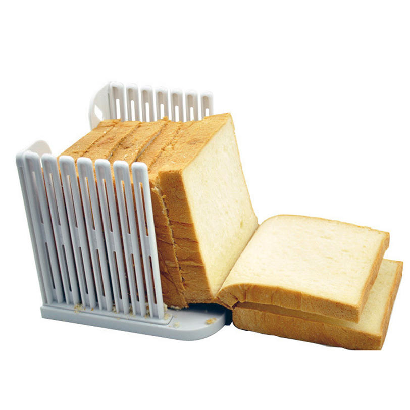 Kitchen Pro Tool Bread Loaf Toast Slicer Cutter 2017 Hot Wholesale Superior Mold Maker Slicing Cutting Guide Free Shipping Mar 9
