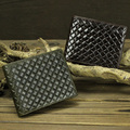 fashion Bifold Multi Wallet card holder Genuine Leather Clutch with Slim Coin Purse knitting wallet men offers