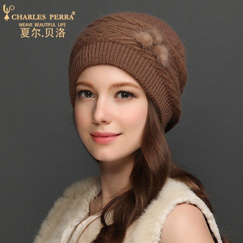 Charles Perra Sombreros de lana para mujer NUEVO Otoño Invierno - Accesorios para la ropa - foto 5