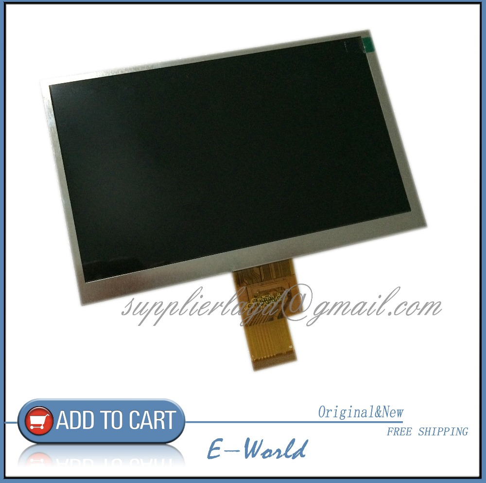 Original and new 7inch 1024 600 40pin lcd screen size 165 for Table th size