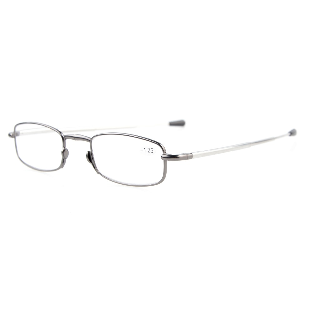 R15080 Mix Eyekepper 4-Pack Telescopic Arms Folding Reading Glasses With Flip-Top Case Included Computer Glasses +0.50----+4.00