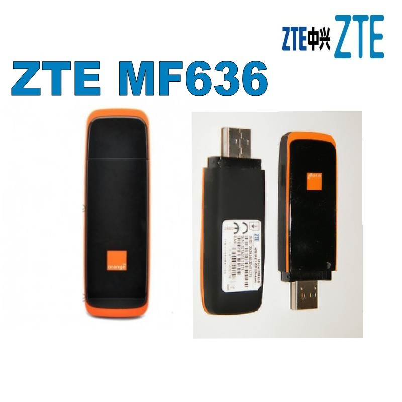 ZTE MF636 7.2mbps cheap price external usb hsdpa 3g dongle