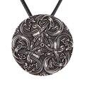 Dragões em Nós Colar Pingente Triskele Norse Necklacets Vikings Amuleto Talismã Pingente Colares Pingentes Nórdico Livre de Chumbo