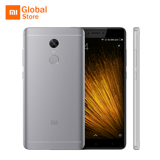 """Оригинальный Xiaomi Redmi Note 4x3 ГБ оперативной памяти 16 ГБ ROM мобильный телефон Snapdragon 625 Octa Core 5.5"""" FHD 4100 мАч отпечатков пальцев идентификатор глобальной ROM"""
