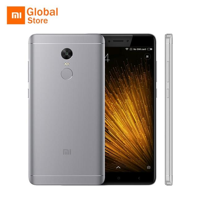 """Глобальный Встроенная память Xiaomi Redmi Note 4x3 ГБ Оперативная память 16 ГБ Встроенная память мобильного телефона Snapdragon 625 Octa Core 5.5 """"FHD 4100 мАч отпечатков пальцев ID оригинальный"""