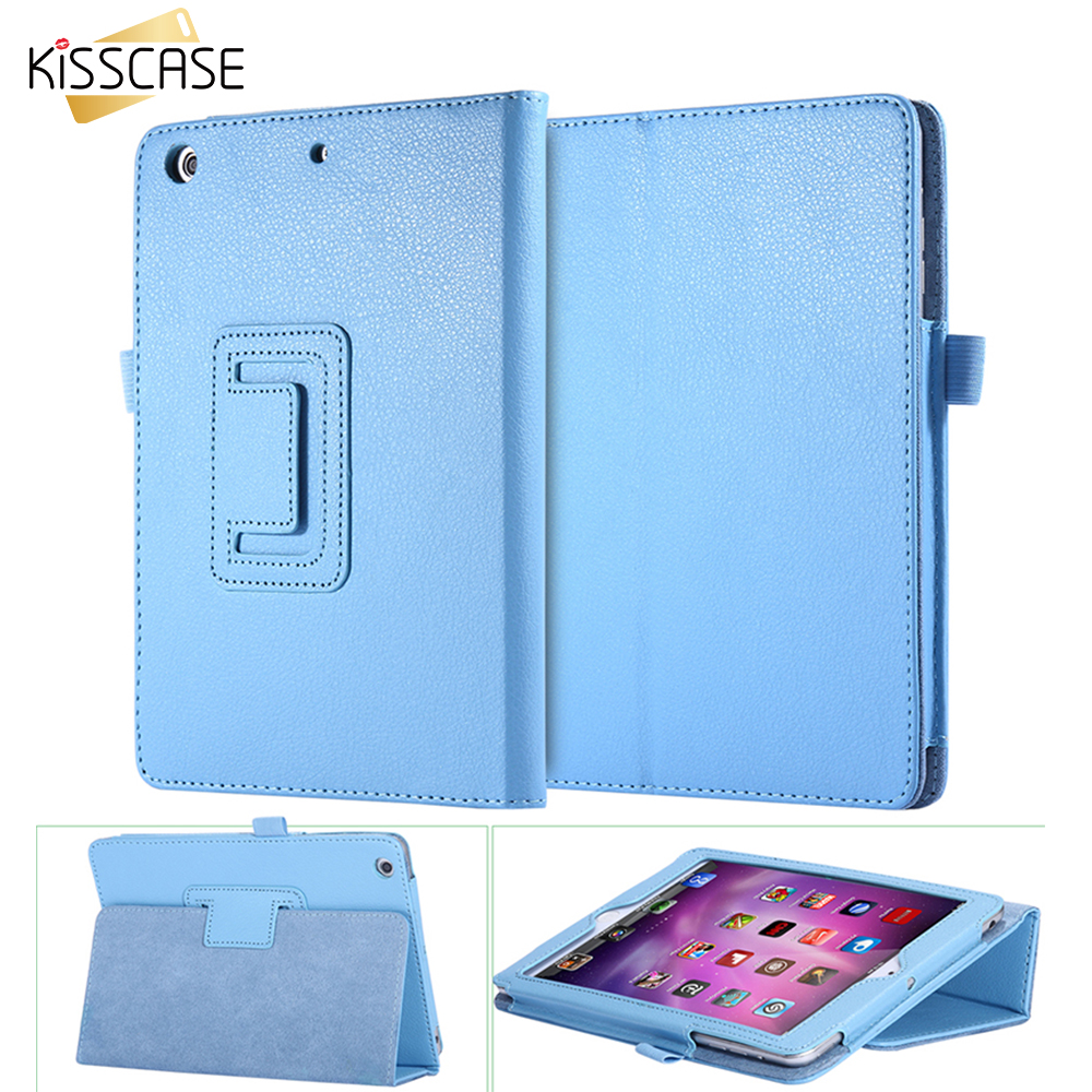 Kisscase luxury dünner lederner buch case für apple ipad2 für ipad3 ipad4...