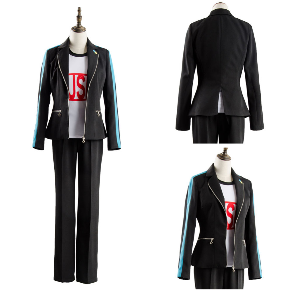 Persona 5 Dancing Moon Night Yusuke Kitagawa Cosplay Costume Uniform Outfit