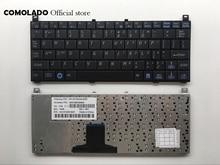 US English keyboard for Toshiba Mini NB100 NB105 NB101 NB100-11B NB100-11J NB100-12S Black Layout