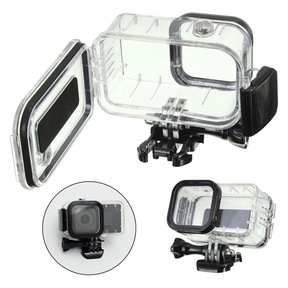 Extension Waterproof Housing Case For GoPro Hero 4 Session+External Backup Battery Clip Battery For GoPro Hero Session 4 Session wta finals singapore session 2