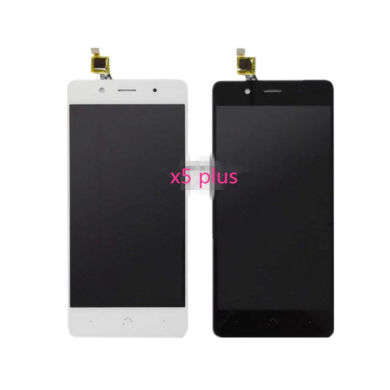Prix pour 5.0 pouces nouveau Pour BQ Aquaries x5 plus TFT5K1830FPC LCD Display + Digitizer Écran Tactile de Remplacement Accessoires Téléphone Portable