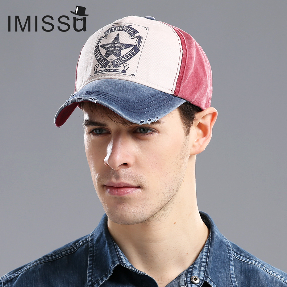IMISSU  Unisex Baseball Cap Adjustable Hat Fashion Casual Hat Gorras Star Hip Hop Snapback Hats Caps for Men Women korting khc 6930 rc