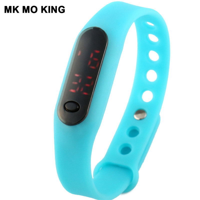 Children's Watches Knowledgeable 2019 Children Watch Led Sports Kids Watches Men Women Pu Electronic Digital Clock Bracelet Wristwatches For Boys And Girls Reloj
