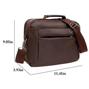 Image 2 - Moda teczki biznesowe człowiek dla prawnika torba męskie torby na ramię Laptop teczki męskie 2019 torebka Crossbody Bag