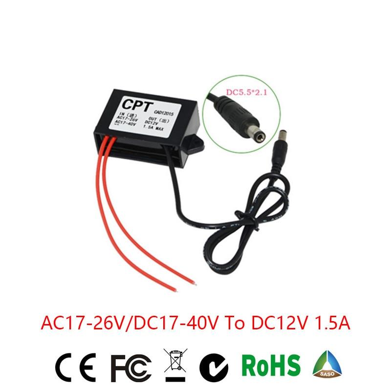 все цены на Grid Tie Inverter Solar Inverter Ac To For Dc Converter Step-down Ac24v/dc24v Dc12v1.5a Waterproof Control Inverter Car Module онлайн