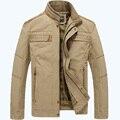 AFS JEEP marca cores cáqui e verde do exército dos homens revestimento do outono plus size M-3XL homens jaqueta de 128